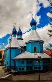 Kyrka av ärkeängeln Michael i Bielsk Podlaski Fotografering för Bildbyråer