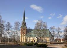 Kyrka av ärkeängeln Michael i Mora sweden Arkivfoton