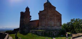 Kyrka av ärkeänglarna i citadellen av Gremi, Georgia arkivfoton