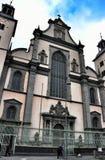 Kyrka av antagandet av den välsignade jungfruliga Maryen i Cologne arkivbilder