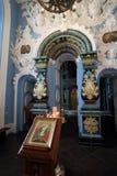 Kyrka av antagandet av den välsignade jungfruliga Maryen i nya Jerus Arkivfoton