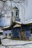 Kyrka av antagandet av jungfruliga Mary i den historiska staden av Koprivshtitsa, Sofia Region Arkivfoto