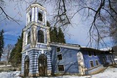 Kyrka av antagandet av jungfruliga Mary i den historiska staden av Koprivshtitsa, Sofia Region Arkivbild