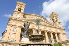 Kyrka av antagandet av vår dam på Mosta, Malta Royaltyfria Bilder
