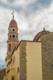 Kyrka av Arezzo Fotografering för Bildbyråer