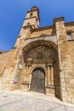 Kyrka av Ariza, Spanien Fotografering för Bildbyråer