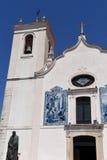 Kyrka av Aveiro, Beiras region; Royaltyfria Foton