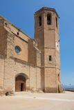Kyrka av Balaguer Royaltyfria Bilder