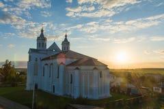 Kyrka av Boris och Gleb i Novogrudok Fotografering för Bildbyråer