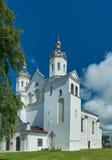Kyrka av Boris och Gleb i Novogrudok, arkivfoto