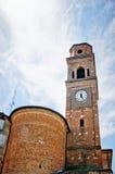 Kyrka av Campagnola Emilia, nord av Italien Fotografering för Bildbyråer
