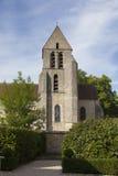 Kyrka av Chamarande Arkivfoto