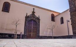 Kyrka av Concepcionen, San Cristobal de La Laguna, Santa Cruz de Tenerife, Spanien fotografering för bildbyråer