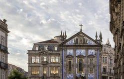 Kyrka av Congregados - Igreja DOS Congregados som byggs i 1703 Arkivbild