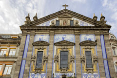 Kyrka av Congregados - Igreja DOS Congregados som byggs i 1703 Royaltyfri Foto