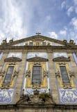 Kyrka av Congregados - Igreja DOS Congregados som byggs i 1703 Royaltyfri Fotografi