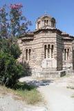 Kyrka av de heliga apostlarna - Aten - Grekland Royaltyfria Foton