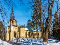 Kyrka av de heliga apostlarna Peter och Paul St Petersburg Shuv Fotografering för Bildbyråer