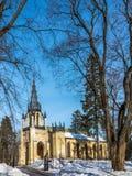 Kyrka av de heliga apostlarna Peter och Paul St Petersburg Shuv Royaltyfria Bilder