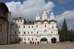Kyrka av de tolv apostlarna, Kreml moscow Ryssland Fotografering för Bildbyråer