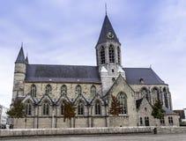 Kyrka av Deinze royaltyfri fotografi