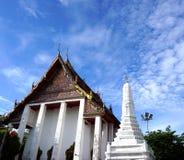 Kyrka av den forntida templet i Thailand arkivbild