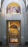 Kyrka av den helgonSava ingången Royaltyfria Foton