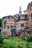 Kyrka av den heliga frälsaren i Chora, Istanbul arkivfoton