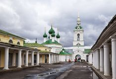 Kyrka av den heliga frälsaren i Kostroma, Ryssland Royaltyfria Bilder