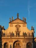 Kyrka av den heliga frälsaren i Prague, Tjeckien Arkivfoton