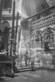 Kyrka av den heliga griften i Jerusalem, Israel Arkivfoto