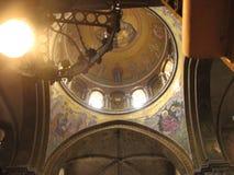 Kyrka av den heliga Sepulchre×¥ Jerusalem gamla staden israel Royaltyfria Bilder