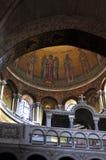 Kyrka av den heliga sepulchren, Jerusalem Royaltyfri Foto