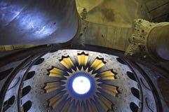 Kyrka av den heliga sepulchren, Jerusalem Arkivbild