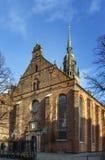 Kyrka av den heliga spöken, Köpenhamn Arkivbilder