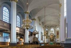 Kyrka av den heliga spöken, Köpenhamn Royaltyfri Bild