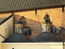 Kyrka av den heliga Treenighet i Krosno poland Fotografering för Bildbyråer