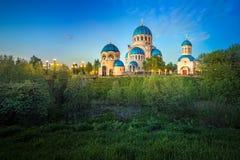 Kyrka av den heliga Treenighet i Orekhovo-Borisov Royaltyfria Bilder