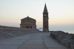 Kyrka av den Madonna dell'Angeloen Arkivfoton
