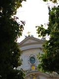 Kyrka av den Piarist beställningen i Wien Arkivbilder