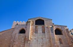 Kyrka av den Sanka segraren (circa 1200). Marseilles Frankrike Arkivbild