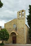 Kyrka av den Sanktt Domenicoen - Tuscanyen royaltyfria foton