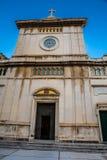 Kyrka av den Santa Maria Assunta - Amalfi kusten, Italien Arkivfoton