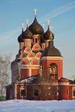 Kyrka av den Tikhvinkaya symbolen Theotokosen Royaltyfria Foton