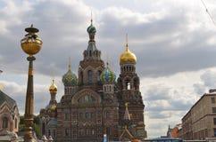 Kyrka av det spillda blodet, St Petersburg Tom Wurl Royaltyfria Bilder