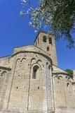 Kyrka av escales, Frankrike royaltyfri bild