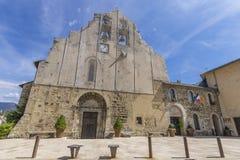 Kyrka av Formiguères, Frankrike Royaltyfri Fotografi