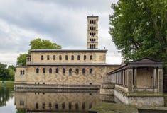 Kyrka av fred, Potsdam, Tyskland arkivbilder