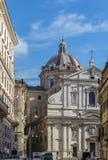 Kyrka av Gesuen, Rome Arkivbild
