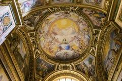 Kyrka av Gesuen, Rome, Italien Fotografering för Bildbyråer